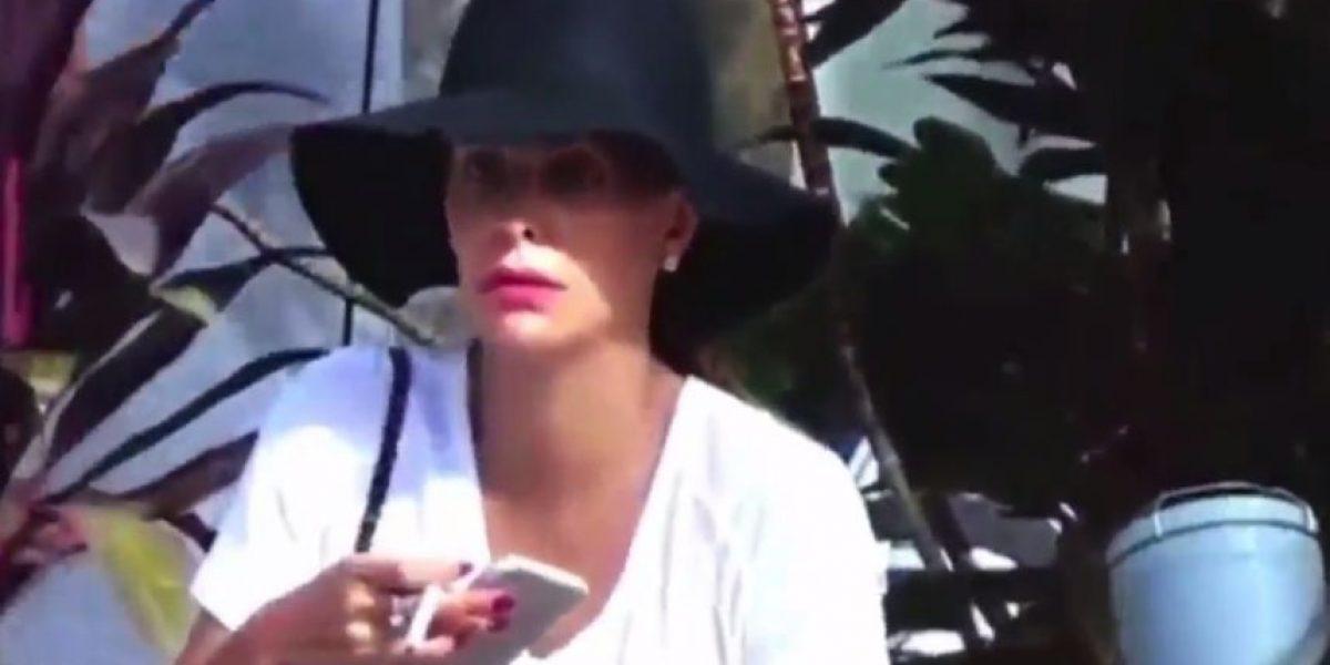Ninel Conde se pasea por Miami sin maquillaje y nadie la reconoce