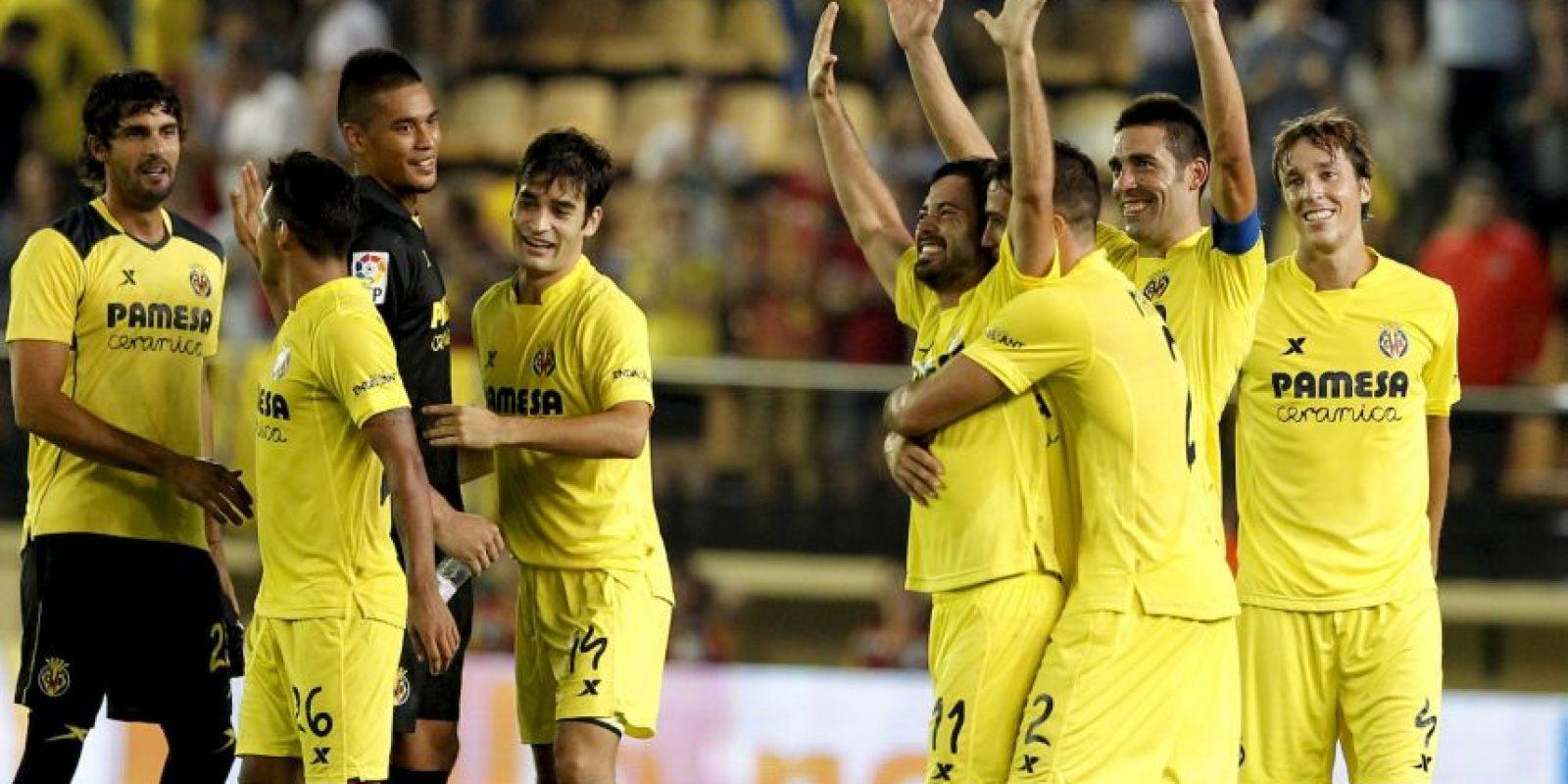 """Con 16 puntos, el """"Submarino Amarillo"""" es el líder único de la Liga BBVA. Los hombres de Marcelino García Toral están invictos con cinco victorias y un empate. Foto:AFP"""