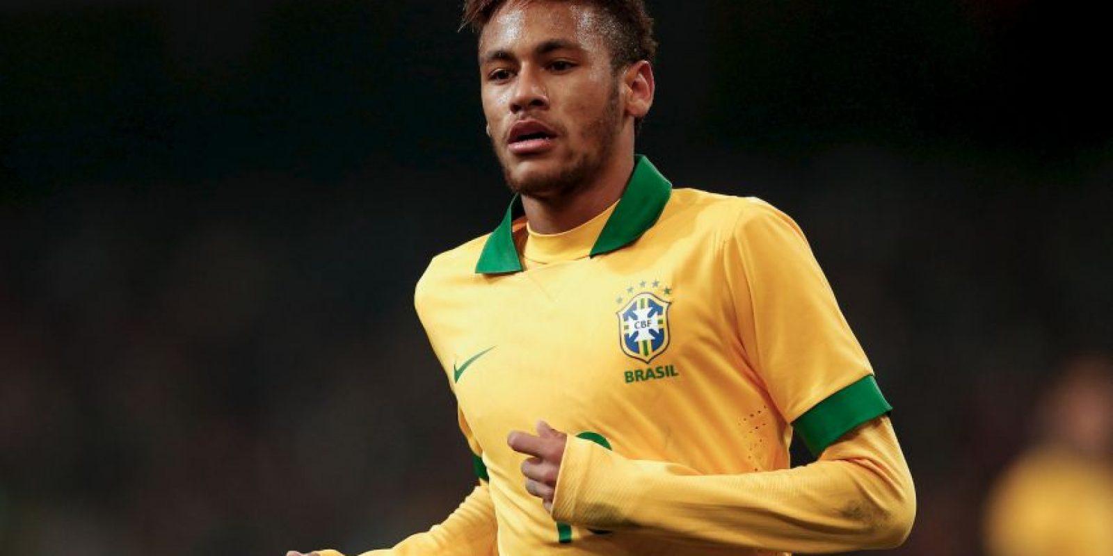 2013 – Se convirtió en el referente de Brasil. Foto:Getty Images