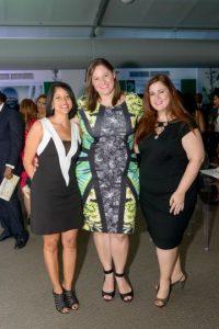 Rosanna Santos, Michelle Quintana y Elizabeth Gonzalez