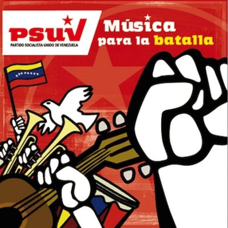 """El que fuera presidente de la nación petrolera lanzó en 2008 el disco """"Música para la batalla"""". Foto:psuv.org.ve"""