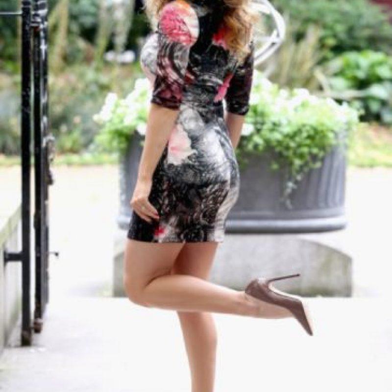 Es británica, modelo, actriz, diseñadora de trajes de baño y presentadora de televisión. Foto:Getty Images