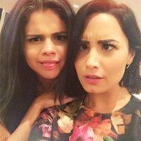 """Semanas anteriores a la publicación, Demi había compartido esta fotografía con el siguiente mensaje: """"Miren lo #coolforthesummer que somos. Amigas por años #sameoldlove"""" Foto:Instagram/ddlovato"""