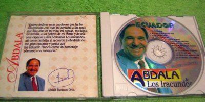 """En 1995 publicó un disco titulado """"Un loco que ama"""". Foto:MercadoLibre.com"""