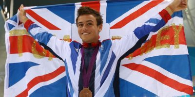 ¿Recuerdan a Tom Daley? Foto: Getty Images