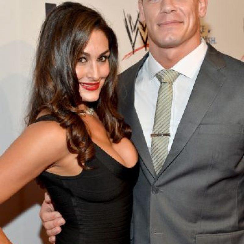 El problema es que ella está comprometida con John Cena. Foto:Getty Images