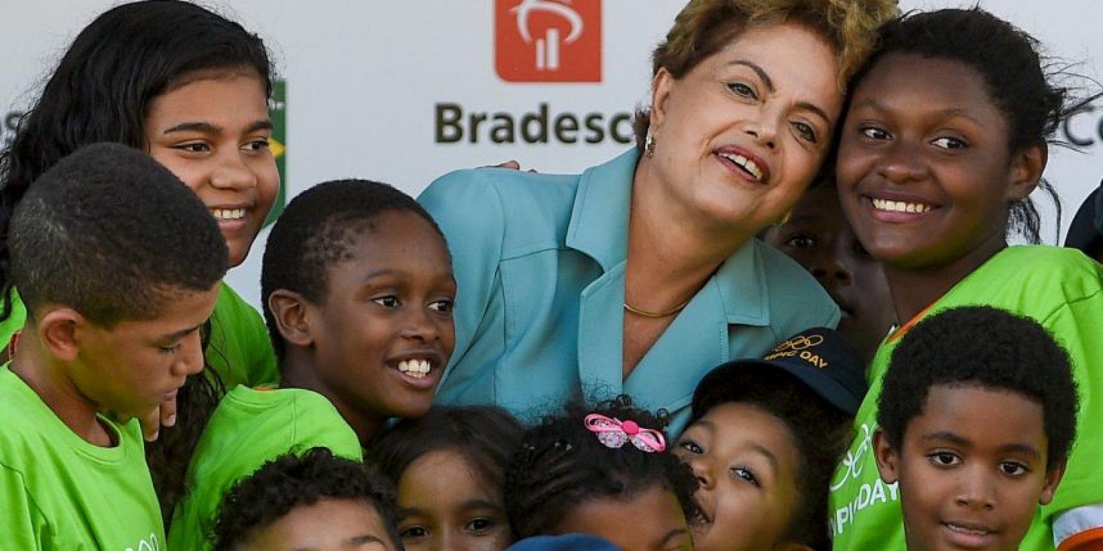 De acuerdo a una encuesta del Instituto Brasileño de Investigación, la presidenta es apoyada por 10 por ciento. Foto:Getty Images