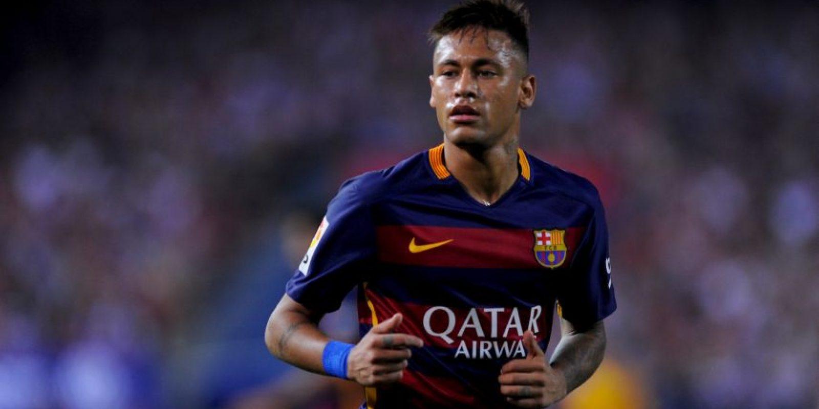 2015 – Fue parte del Barcelona que ganó el triplete durante la campaña 2014-2015. Foto:Getty Images