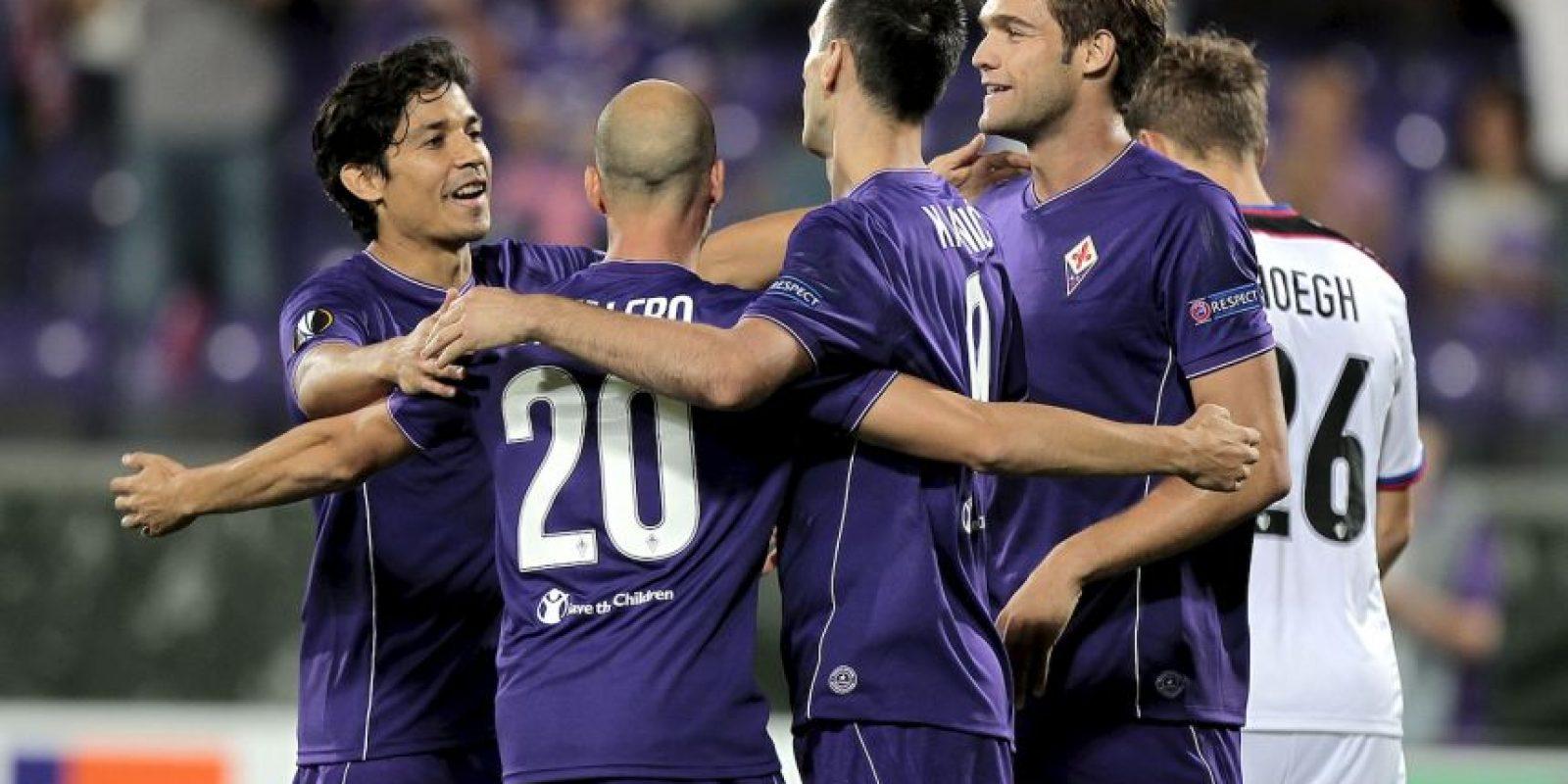 """En una liga dominada totalmente en los últimos años por la Juventus, llama la atención ver la a """"Fiore"""" de líder. Los """"Viola"""" suman 15 puntos en 6 fechas con cinco victorias y sólo una derrota. Foto:Getty Images"""