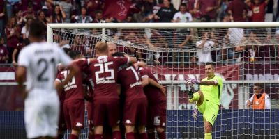 """Ni Juventus (15º), ni Milán (11º), ni la Roma (6º) o el Napoli (10º) están en el Top 5, pero el Torino sí. Los """"Granata"""" son terceros de la clasificación con 13 unidades que han conseguido gracias a cuatro victorias y un empate. Foto:Getty Images"""