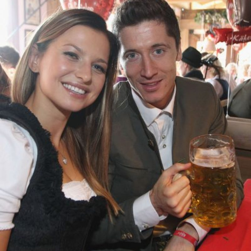 Anna Stachurska es la esposa de Robert Lewandoswki. Foto:Getty Images