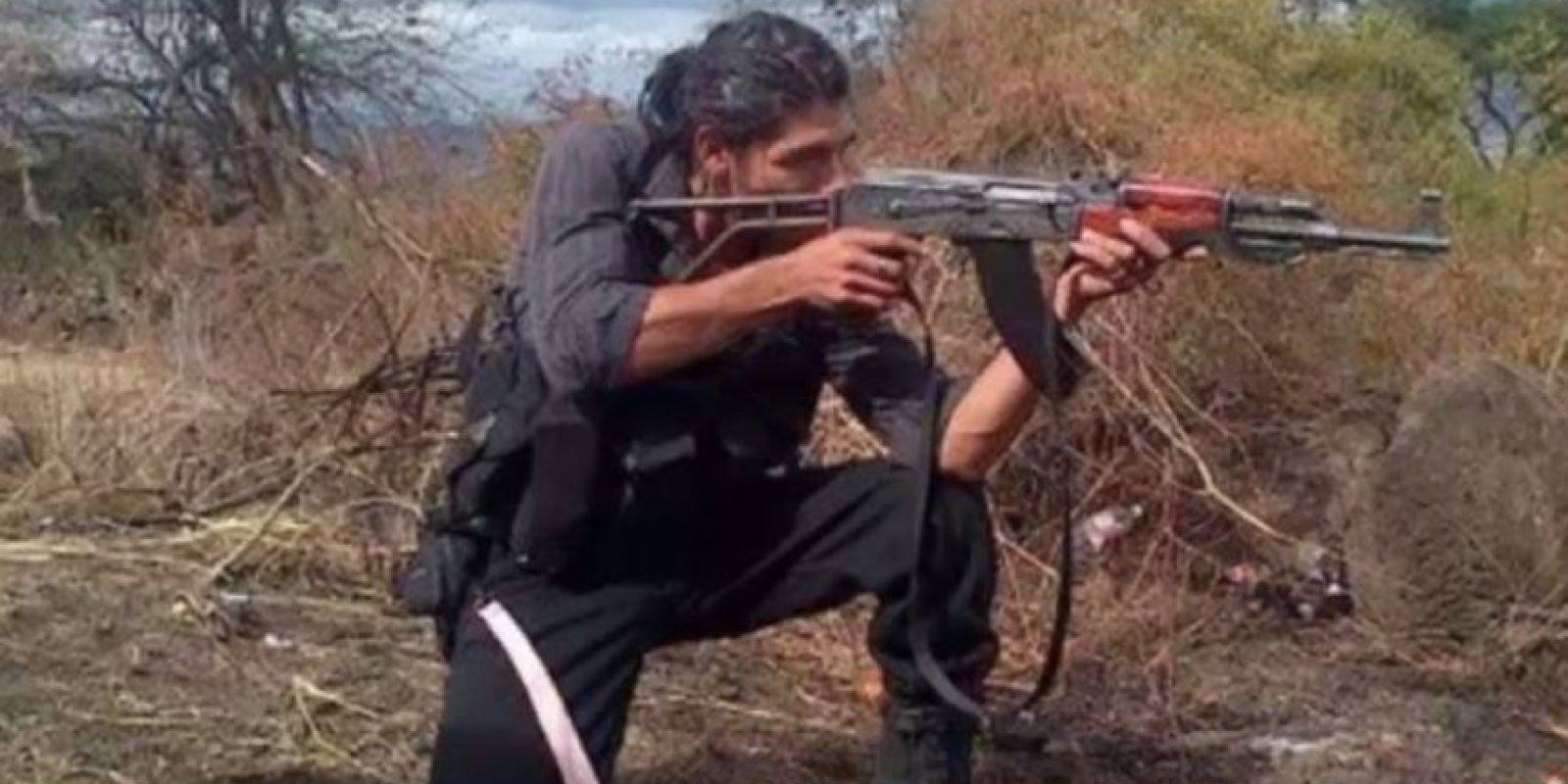 """""""Broly Banderas"""" es el sicario más poderoso del cartel """"Los Caballeros Templarios"""" de Michoacán. Foto:vía Facebook/Broly Banderas- Organización"""