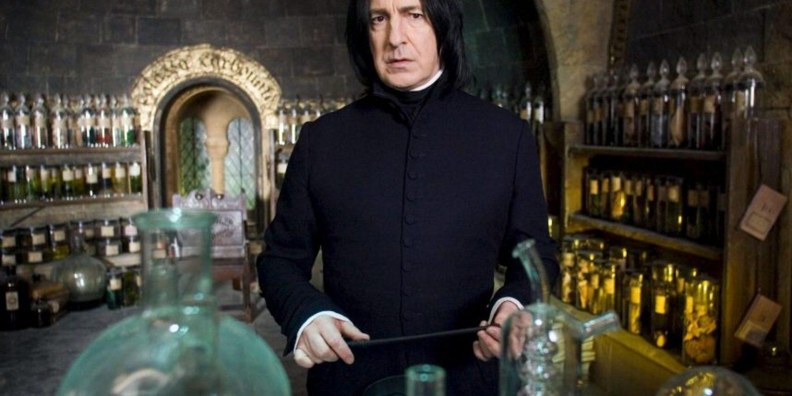 """La ultima teoría tiene como protagonista al profesor """"Severus Snape"""". Foto:vía facebook.com/harrypottermovies"""