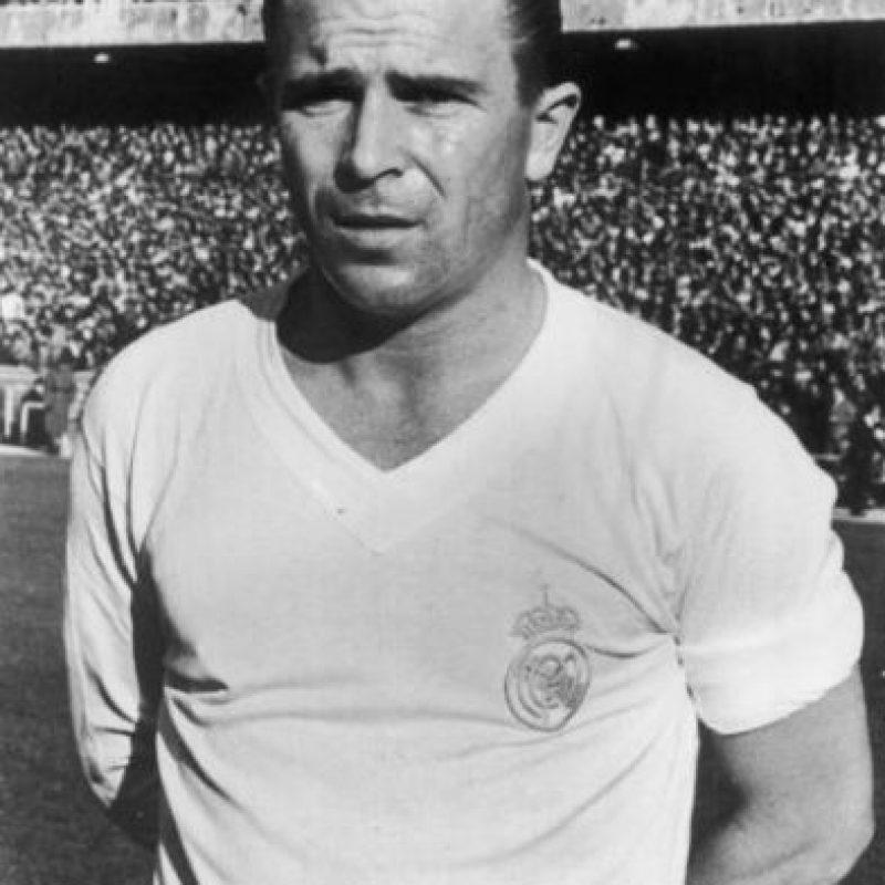 """La """"Saeta Rubia"""", leyenda del Real Madrid, marcó 497 goles en 680 partidos. Jugó 22 temporadas. Foto:Getty Images"""