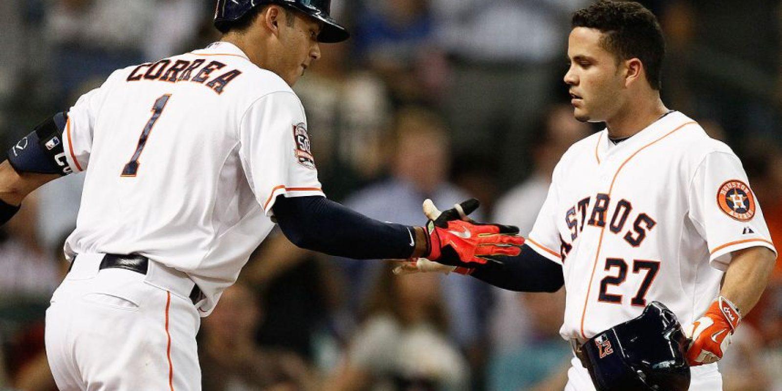 José Altuve y Carlos Correa son el alma de los Astros