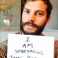 """El protagonista de """"50 Sombras de Grey"""" también optó por dejarse la barba. Foto:vía instagram.com/jdornan"""