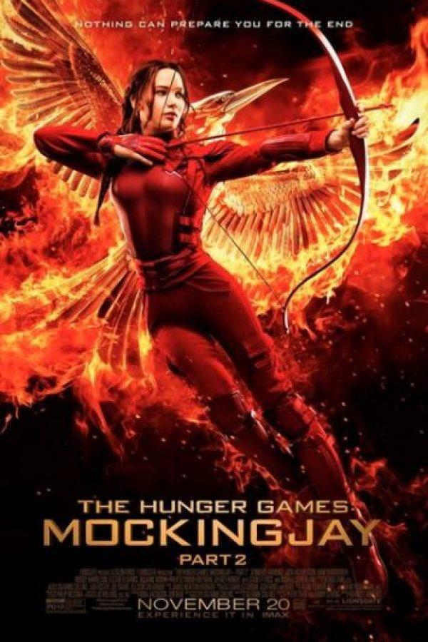 """""""Los Juegos del Hambre: Sinsajo Parte 2"""" llegará a la pantalla grande el próximo 20 de noviembre. Foto:Facebook/JenniferLawrence"""