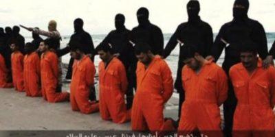Decapitaciones masivas: Como la de 30 cristianos egipcios Foto:Twitter.com – Archivo