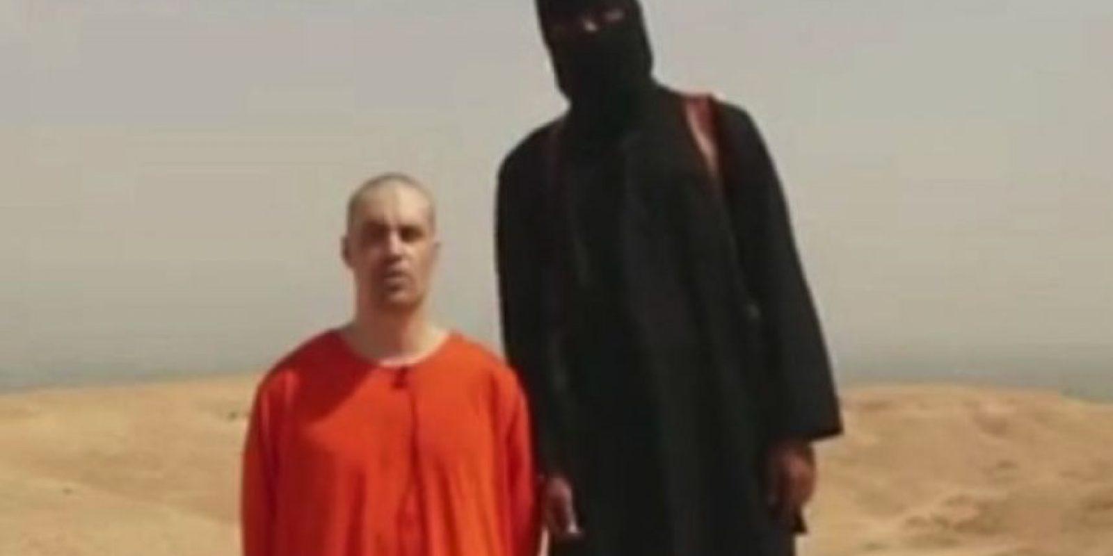 Decapitaciones en video: Como la del periodista James Foley y algunos otros ciudadanos estadounidenses, británicos y japoneses Foto:Twitter.com – Archivo