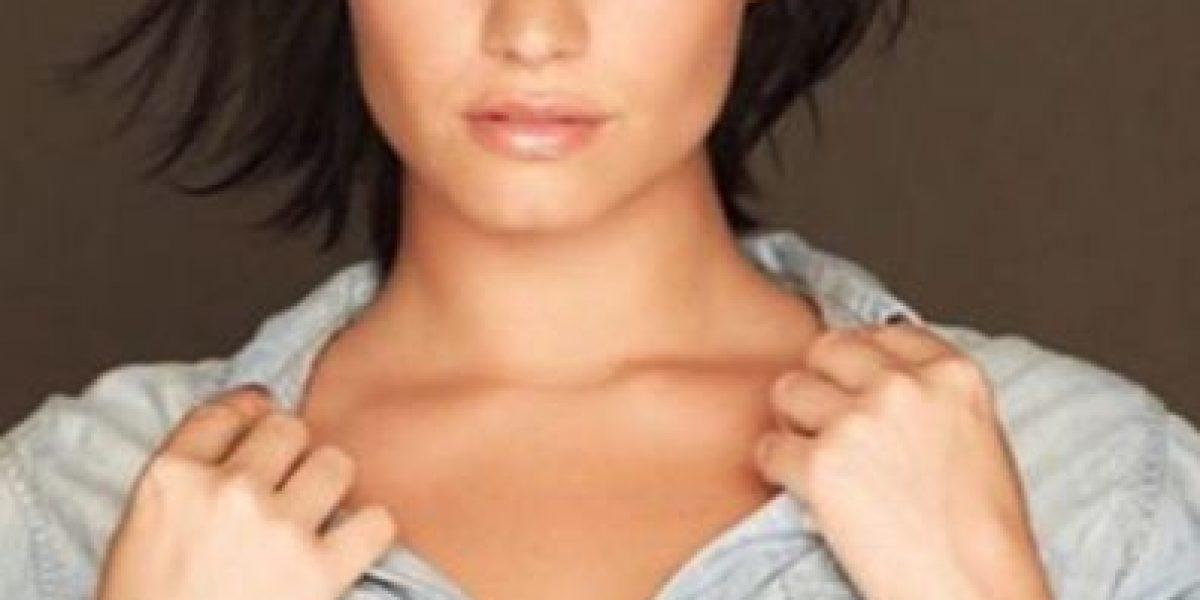 Sin retoques y sin ropa... Demi Lovato posó al natural para
