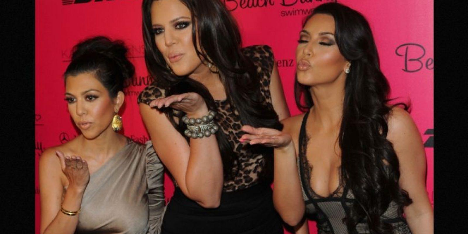Cuando Kim confesó la verdad sobre el material pornográfico, su madre tuvo la gran idea Foto:Getty Images