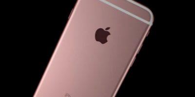 Oro rosado es el nuevo color. Foto:Apple