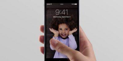 Live Photos en la pantalla de bloqueo. Foto:Apple