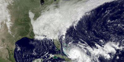 Las Bahamas ya han sentido las lluvias del huracán Joaquín. Foto:AP