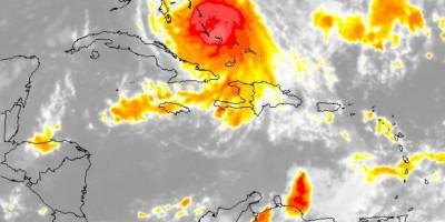 Anuncian lluvias por efectos del huracán Joaquín; COE emite alerta verde