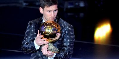 2012: Lionel Messi Foto: Getty Images