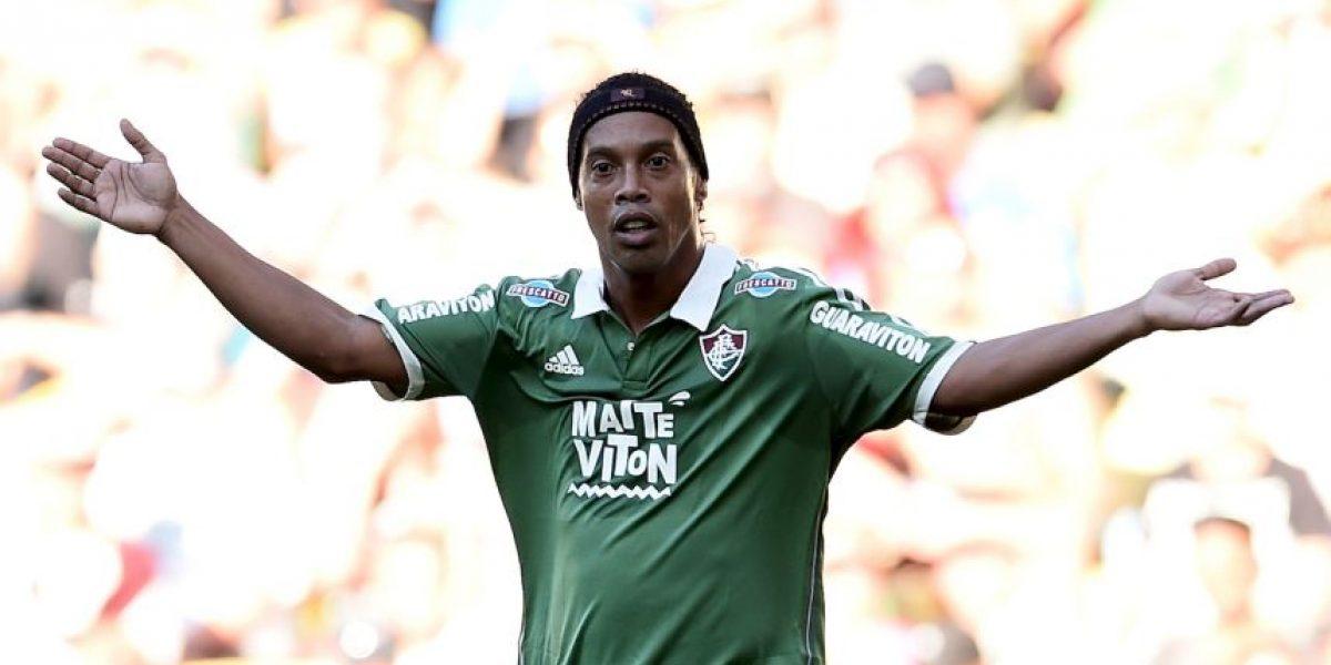 Ronaldinho sufre accidente automovilístico en Brasil