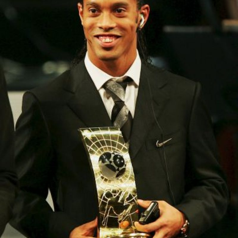 2004: Ronaldinho Foto: Getty Images