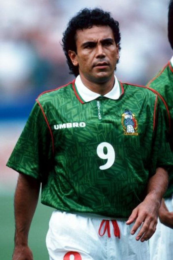 7. Hugo Sánchez (México) Foto:Getty Images