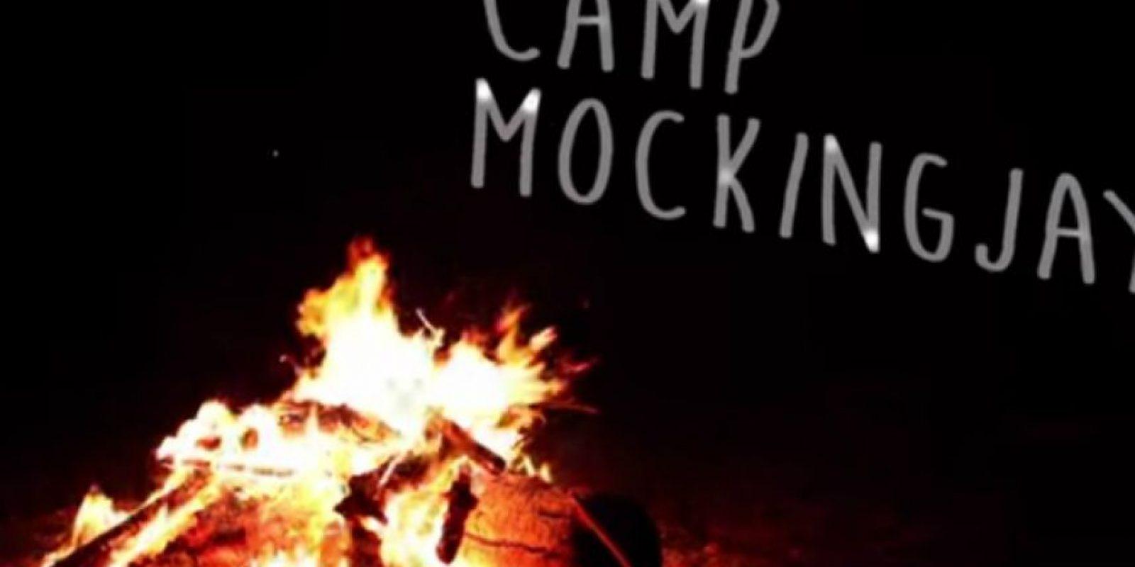 """El """"Campamento Mockingjay"""" fue testigo de las más íntimas confesiones de los actores de """"Los Juegos del Hambre"""" Foto:""""MTV News"""""""