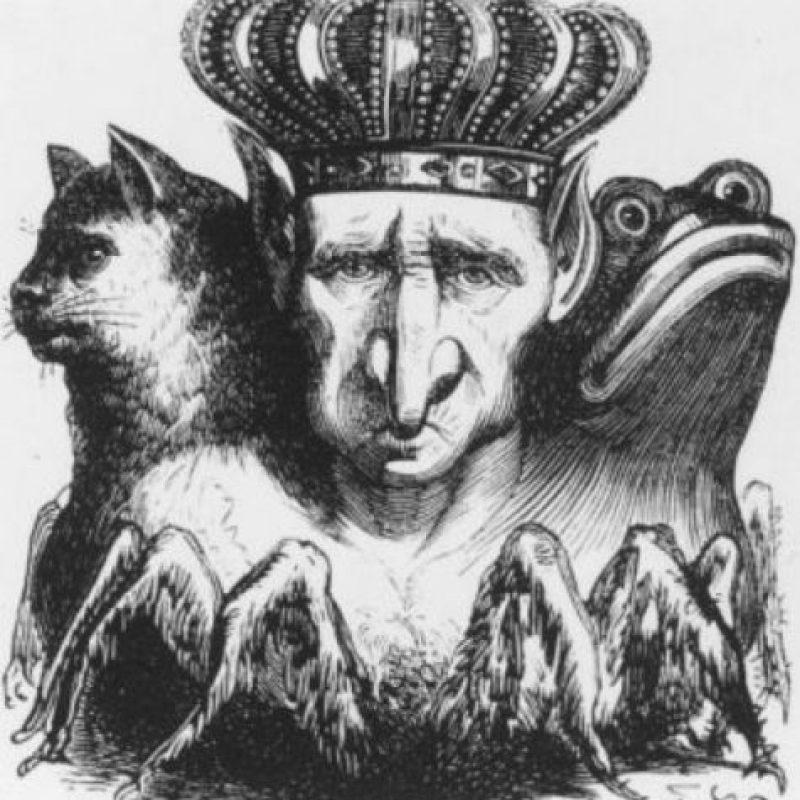 """El """"Diccionario Infernal"""" de 1811 ilustró a 69 demonios. Destacan criaturas como Astaroth (primer Duque del Infierno) o Moloch. Foto:vía Tumblr"""