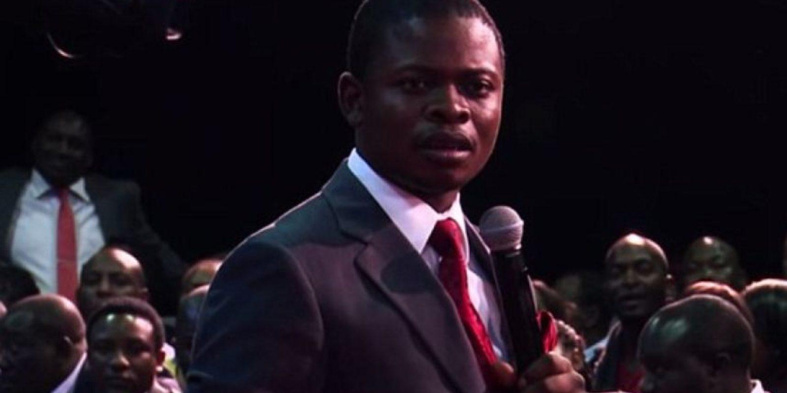 El pastor Bushiri, de Malawi, tiene 239 mil seguidores en Facebook. Foto:vía Prophet Channel