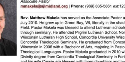 Esto le pasó a Matt Makela. Con cinco hijos. De una iglesia en Michigan. Foto:vía Queerty