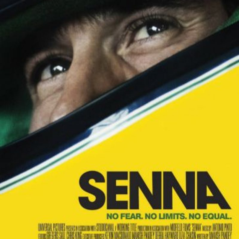 Una película increíble que cuenta la historia de Ayrton Senna, el mejor piloto de la Fórmula Uno que ha existido, a través de imágenes de archivo Foto:Universal Pictures