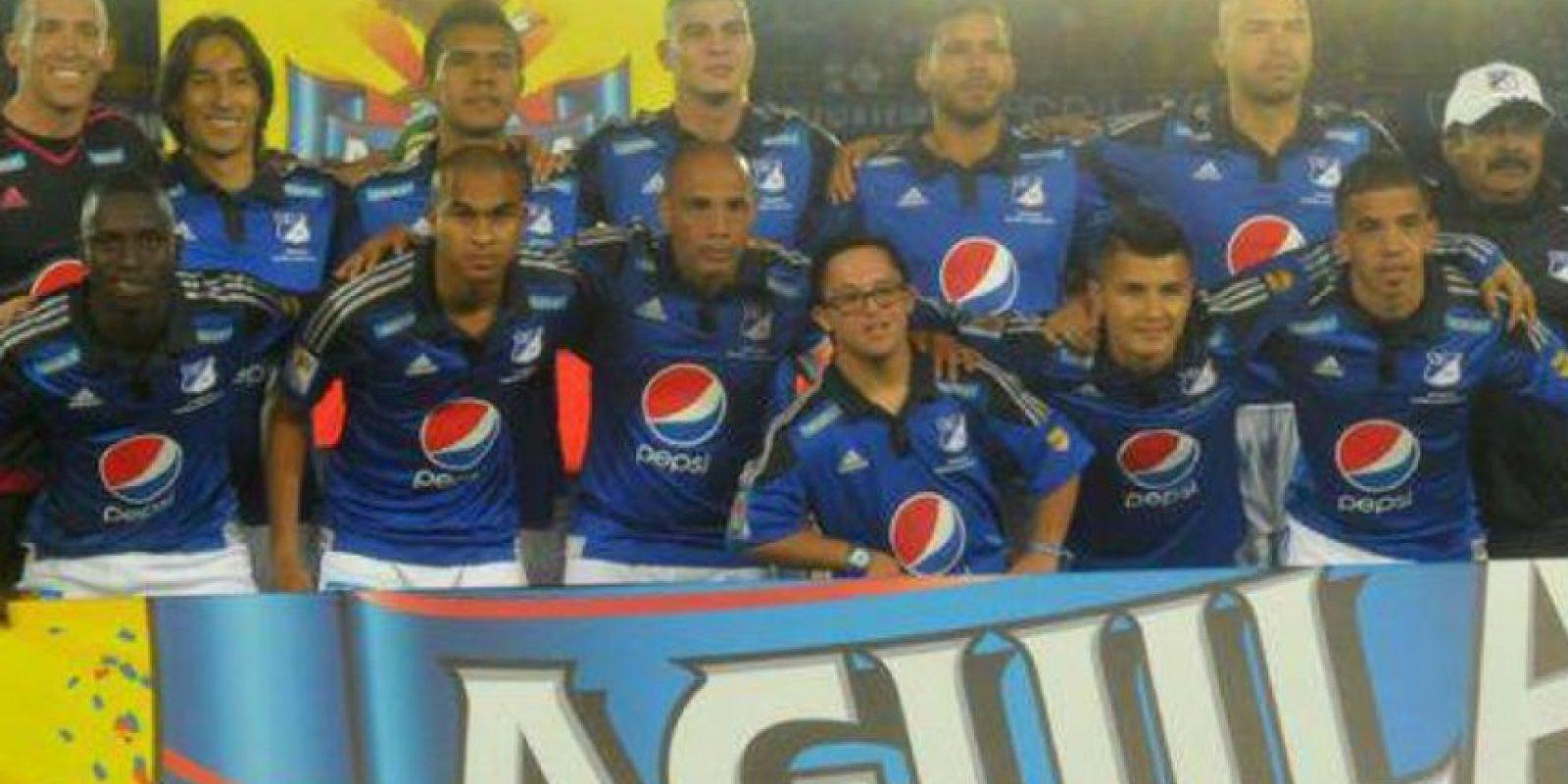 En 13 partidos jugados en la primera división de Colombia han sumado 18 puntos, nueve menos que el Atlético Nacional Foto:Twitter