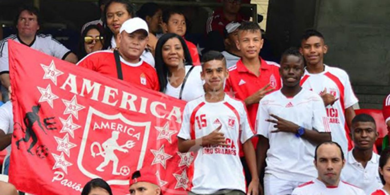 """""""Los Diablos Rojos"""" de Colombia juegan en la segunda división desde 2012 y no han podido regresar al máximo circuito Foto:Twitter"""
