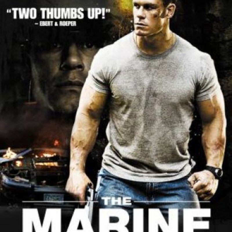 """Cena también fue el protagonista de """"The Marine"""" Foto:WWE"""