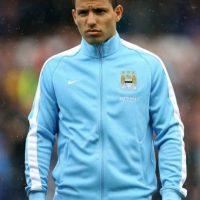 El argentino hizo cinco goles en 20 minutos durante la goleada del Manchester City al Newcastle por 6-1. Foto:Getty Images