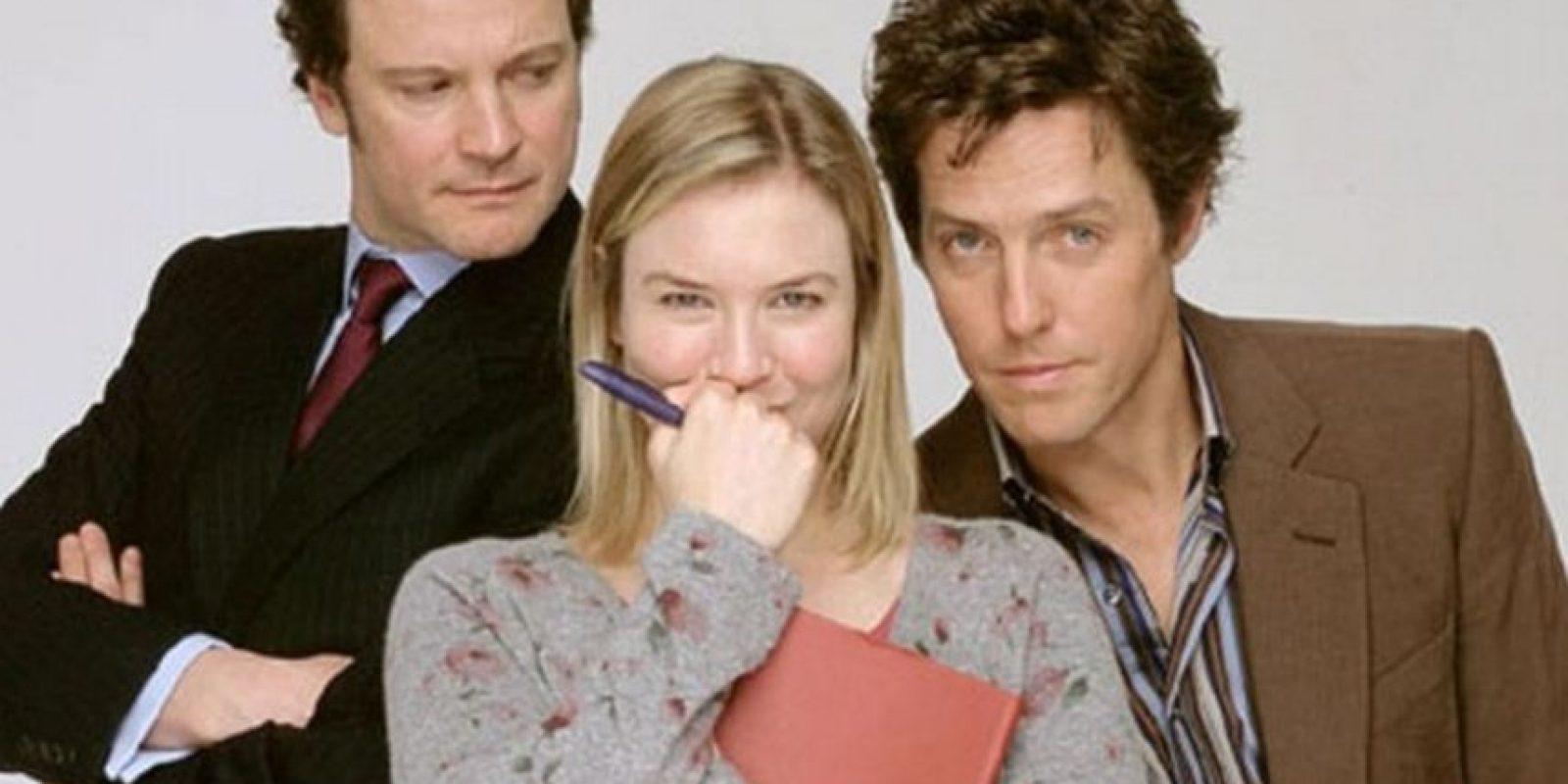 """1. El personaje de """"Bridget Jones"""" fue creado por Helen Fielding para una columna del diario británico """"The Independent"""" Foto:IMDB"""