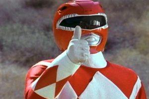 """Red Ranger"" Foto:Facebook/powerrangers"