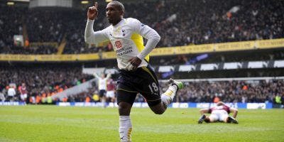 En 2009, Defoe marcó cinco dianas en la humillación 9-1 del Tottenham sobre el Wigan Foto:Getty Images