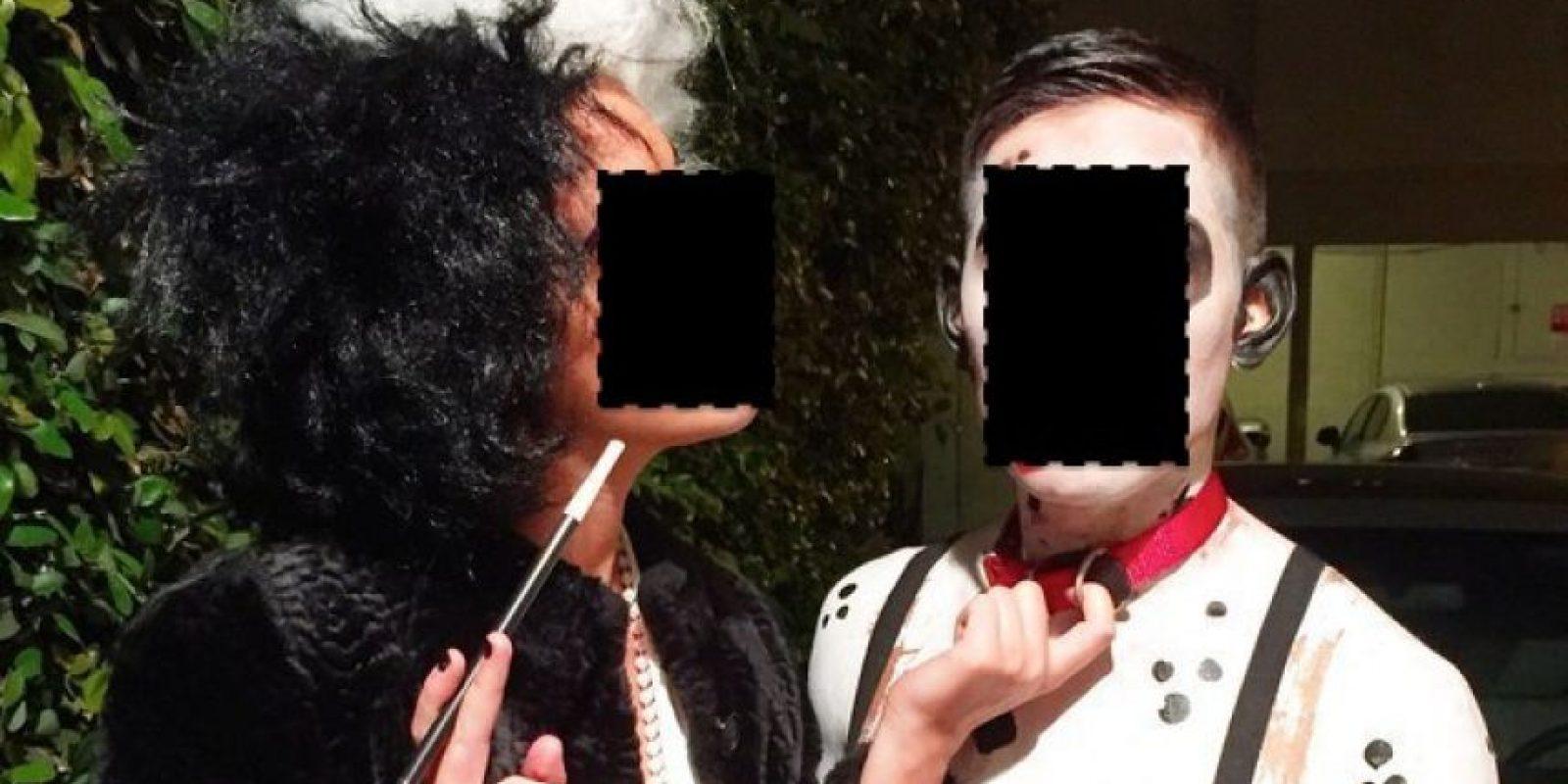 Cruella DeVil y su dálmata. Escalofríos. Foto:vía Tumblr