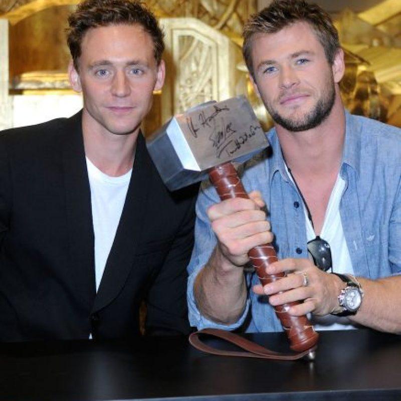 8. Él y Chris Hemsworth son mejores amigos, para que vean que el amor de hermanos de la película de Thor, dio frutos en la vida real. Foto:Getty Images