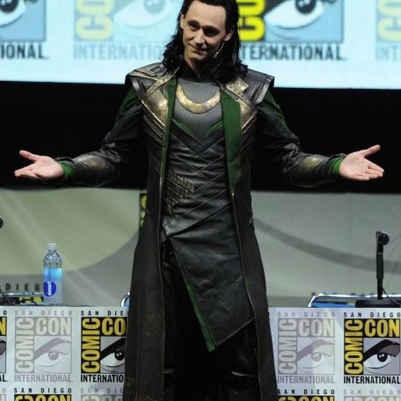 """Sin embargo fue elegido para interpretar a """"Loki"""", aunque no fue la primera opción para el papel. Foto:Getty Images"""