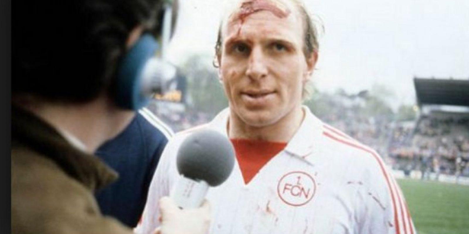 Era el último que había marcado un répoker con el Bayern Münich; lo hizo en 1984 Foto:Twitter