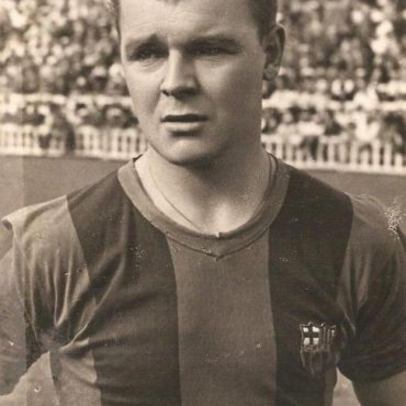 Tiene el récod del répoker más rápido en la Liga de España, al hacerlo en 19 minutos, en 1952 Foto:Twitter